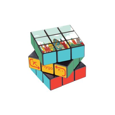 3 x 3 Corporate Rubiks Cube