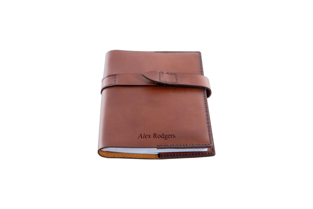 Executive Leather Notebook Cover