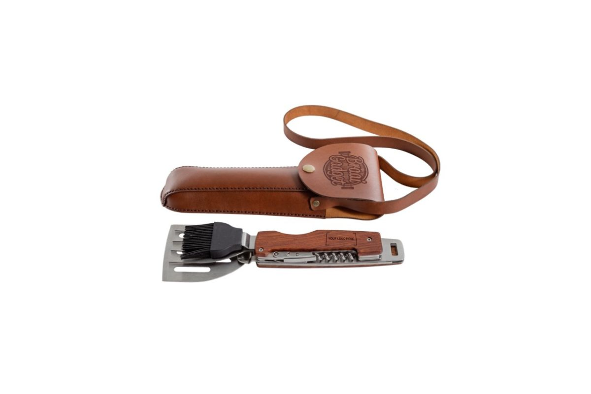 Braai Gadget Multi-tool with Leather pouch