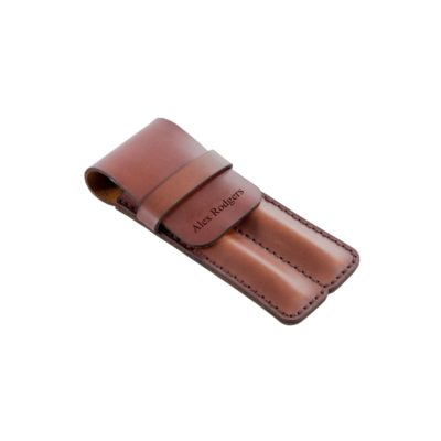 Executive Leather Pen Pencil Holder