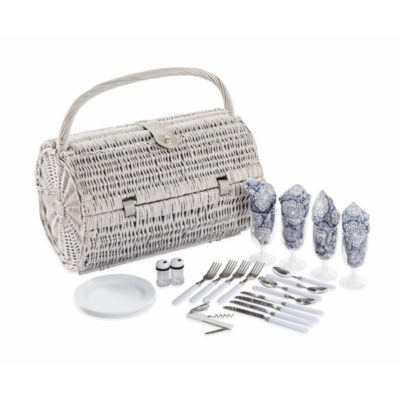 Barrel Picnic Basket Set