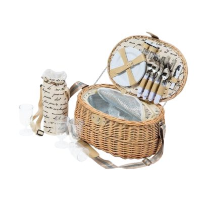 Country Picnic Basket Set