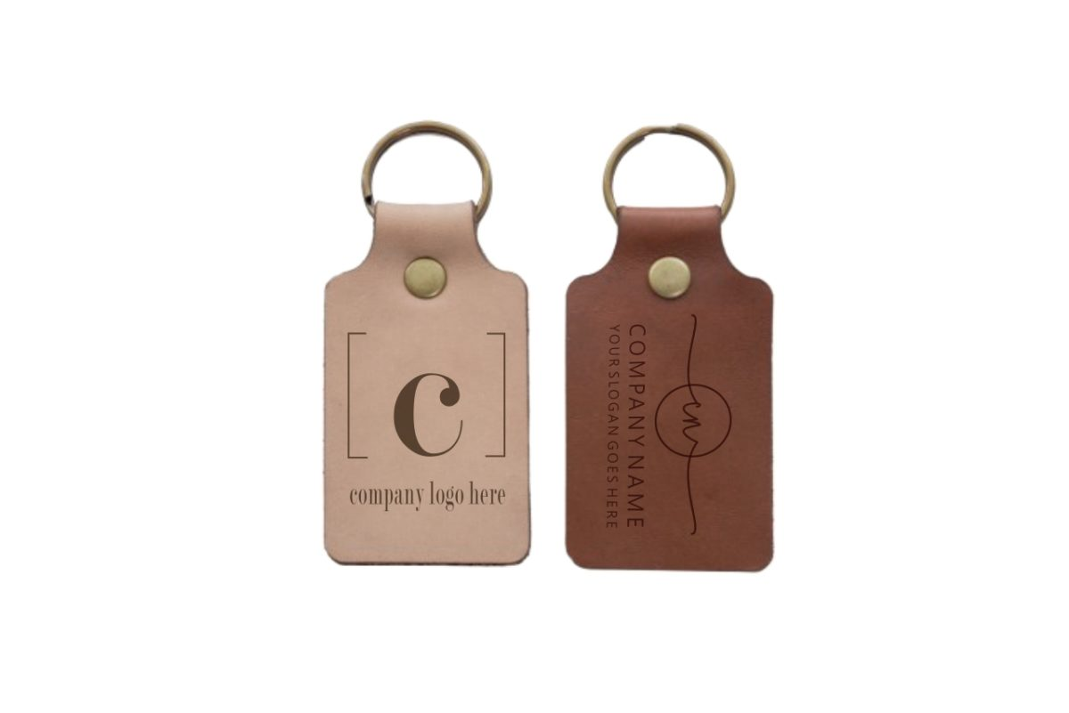 Assorted Leather Keyrings