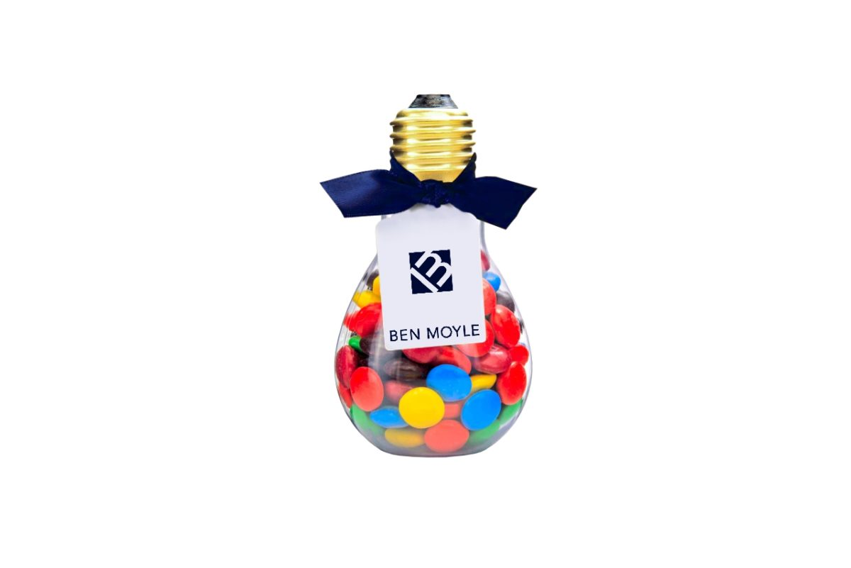 Candy Lightbulb Favour