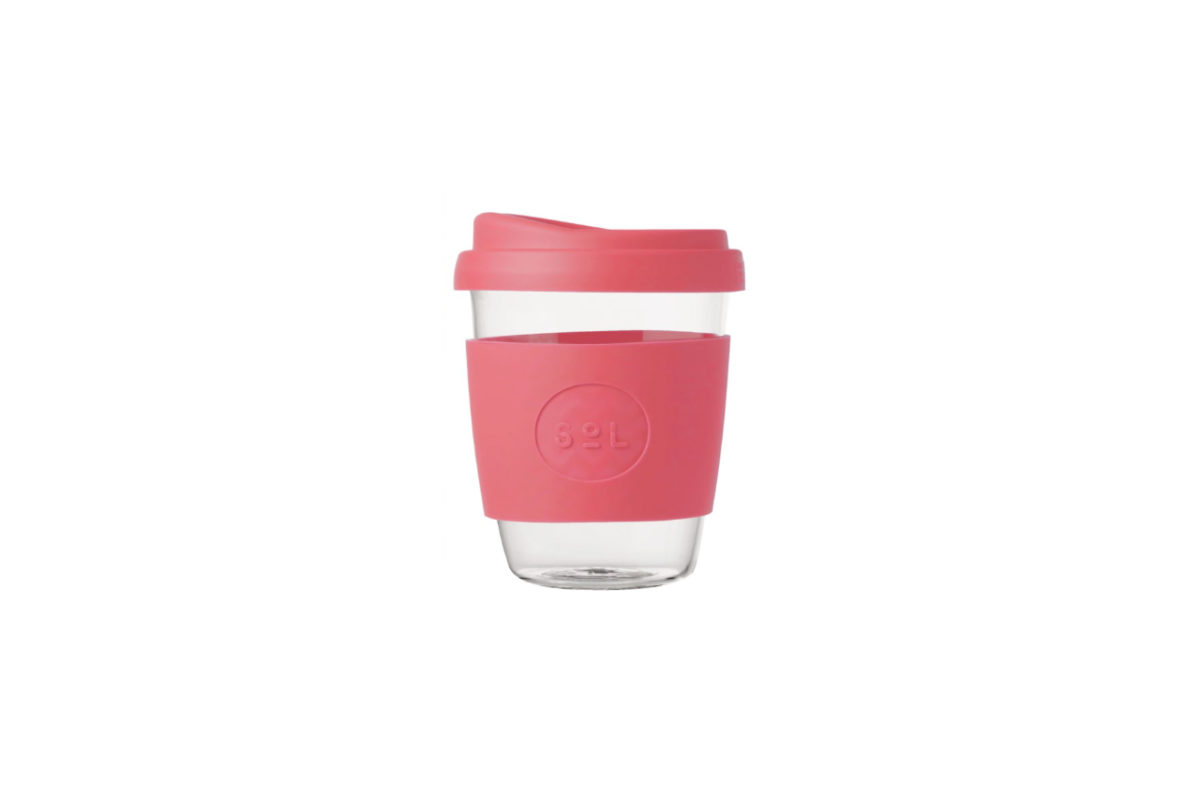 SoL Reusable Glass Cup 350ml