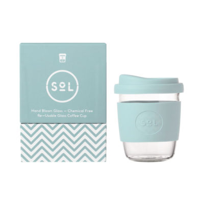 SoL Reusable Glass Cup 230ml