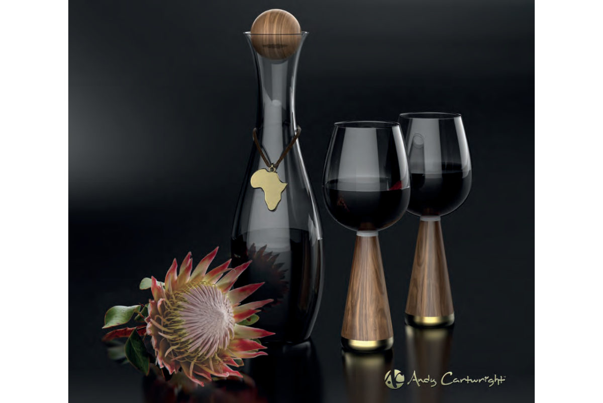 Andy Cartwright Afrique Wine Glasses lifestyle 2