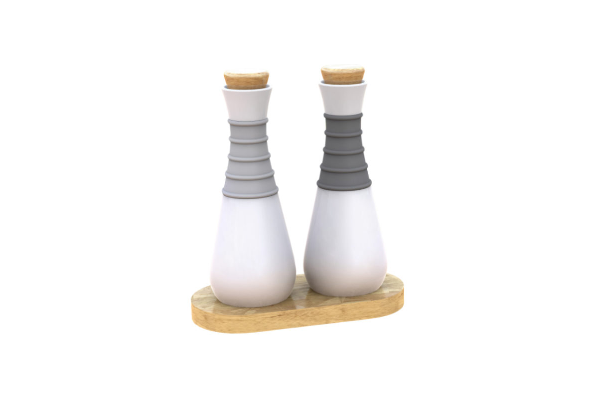 Smartly Dressed Oil & Vinegar Set