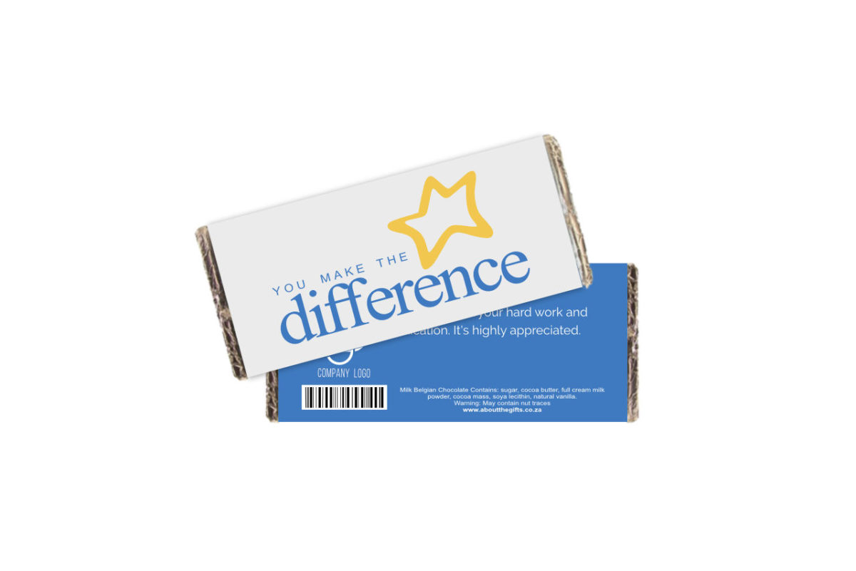 Difference Branded Chocolate Slab